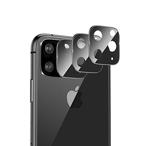 AFUNTA Camera Lens Screen Protector voor iPhone 11 Pro/Pro Max (5.8/6.5 Inch), 3 Stks Camera Lens Protector Compatibel met Nieuwe iPhone, High Definition 9H Hardheid Clear Anti-Scratch