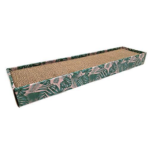 Croci Tiragraffi in Cartone Homedecor, Texture, Leaves, Misura 48X5X12,5-450
