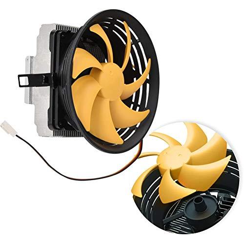 Ventilador de refrigeración de CPU Enfriador de PC Enfriador de disipador de calor de 12 cm, ventilador silencioso, multiplataforma, gran volumen de aire, rodamiento hidráulico, disipación de calor