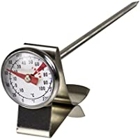Davis & Waddell D20150 Essentials Stainless Steel Café Milk Frothing Thermometer 2.5x13.5cm -10°C to 100°C Temperature...