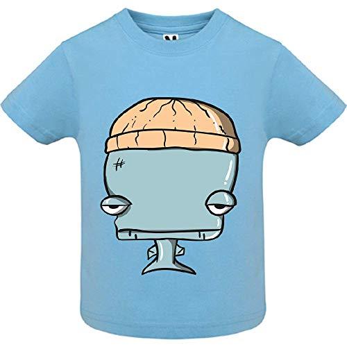 LookMyKase T-Shirt - Whale - Bébé Garçon - Bleu - 2ans