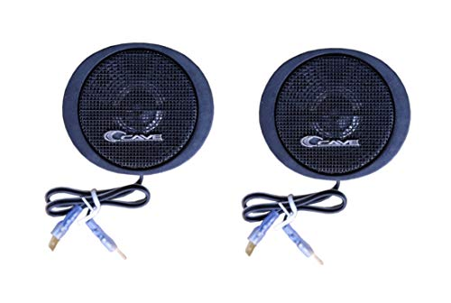 Cave TS-20 Car Coaxial Dome Tweeter Speaker 500 Watt Max (Black)