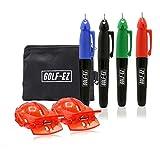 Golf-EZ Golf Ball Line Drawing