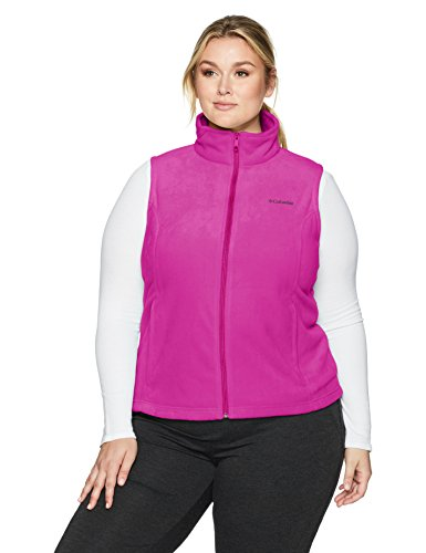 Columbia Women's Plus Size Benton Springs Vest, Phoenix Blue, 3X