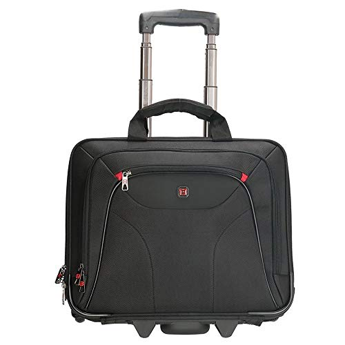 Enrico Benetti Cornell business trolley 14 inch black