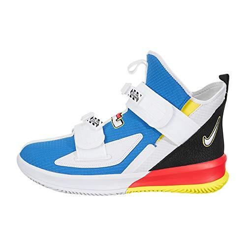 Nike Lebron Soldier 13 SFG Mens Basketball Shoe, Light Photo Blue / White-black-bright Crimson, 11