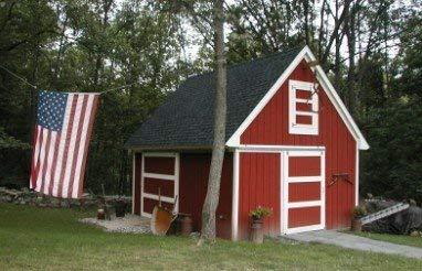 Candlewood Mini-Barn, Shed, Garage and Workshop - 3 Complete Sets of Pole Barn Building Plans