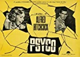 Psycho - Alfred Hitchcock - Italian – Movie Wall Poster