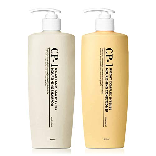 CP-1 Nourishing Shampoo + Conditioner 500ml SET Korean Beauty for Dry Damaged Hair