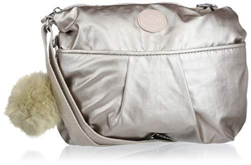 Kipling Women's Jadyn Crossbody Bag, Metallic Glow, One Size