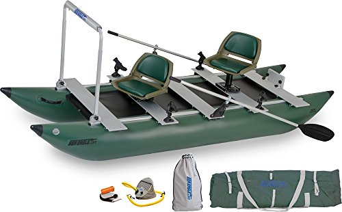 Buy Sea Eagle Green 375FC Inflatable FoldCat Fishing Boat - Pro Angler Guide AMAZON Package