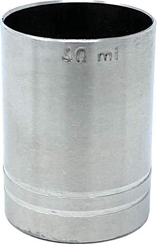 MAK Verre doseur cocktail 40 ml en acier inoxydable Jigger 4 cl doseur alcool bar