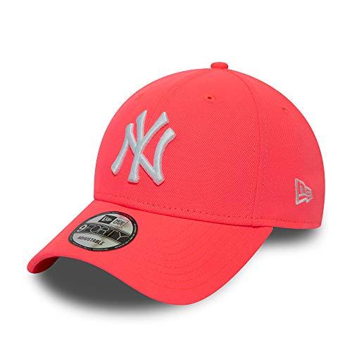 New Era New York Yankees MLB Cap Verstellbar 9forty Basecap Kappe Neon Pink - One-Size