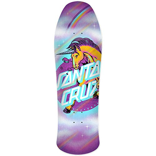 SANTA CRUZ Unicorn Dot Preissue Skateboard Deck 10 Inch Multi