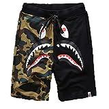 Big Mouth Shark Ape Bape Camo Mens Casual Sports Pants Fashion...