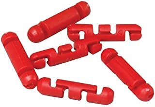 Scotty #2008-24 Auto Stopper Beads for Braided Line (24-Pack) (Red)
