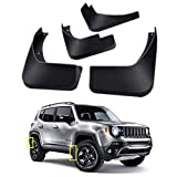 Mud Flaps Kit for Jeep Renegade 2015-2021 Mud Splash Guard Front and Rear 4-PC Set by TOPGRIL