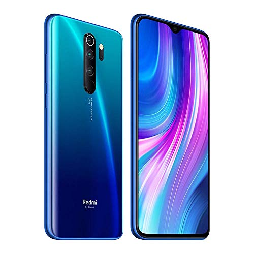 "Xiaomi Redmi Note 8 Pro 64GB Hybrid-SIM Blau EU [16,59cm (6,53"") LCD Display, Android 9.0, 64MP AI Quad Kamera]"