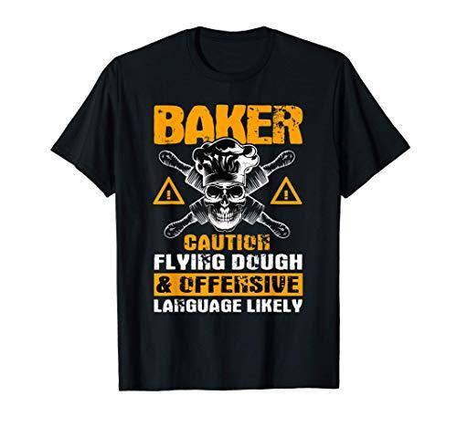 Gran Panadero Diciendo Regalo Pastelero   Camiseta
