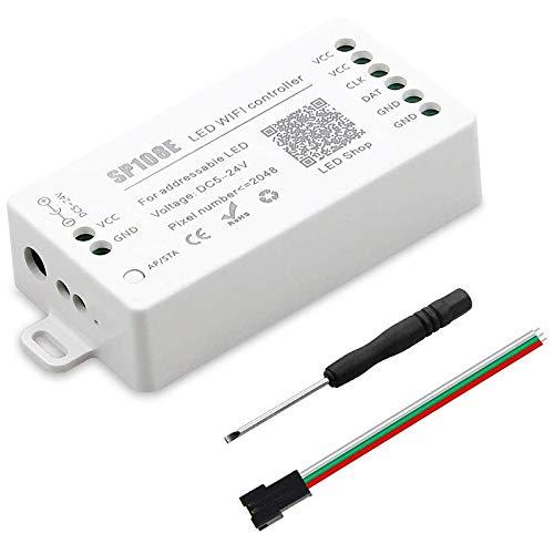 Haudang SP108E LED WiFi Magic Controller WS2812B WS2813 Etc LED Strip Module Light Smart APP Wireless