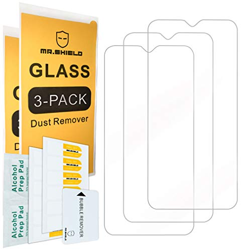 [3-Pack]- Mr.Shield for Samsung Galaxy A10 [NOT Fit For Galaxy A10E] [Tempered Glass] Screen Protector [Japan Glass with 9H Hardness] with Lifetime Replacement