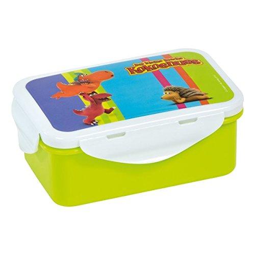 Der kleine Drache Kokosnuss Brotdose, Plastik, Mehrfarbig, 15 x 10 x 6 cm