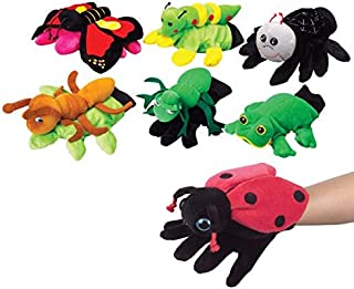 ScienceGeek Crocodile Hand Puppet Gloves Soft Vinyl TPR Animal Head Figure Vividly Kids Toy Model Gifts
