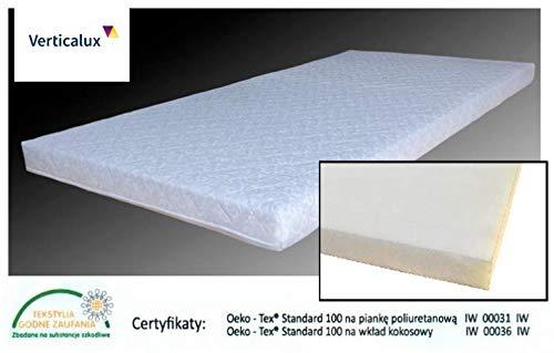 Verticalux - Colchón de espuma para habitación infantil (4 tamaños)