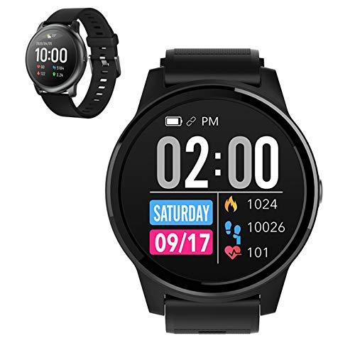 WEINANA Herren Smartwatch Smartwatch, Herzfrequenz, Schrittzähler, Schlafüberwachung, Bluetooth Sport Smart Armband