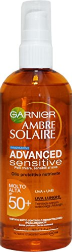 Ambre Solaire Huile protectrice Advanced Sensitive FP50 + 150 ml