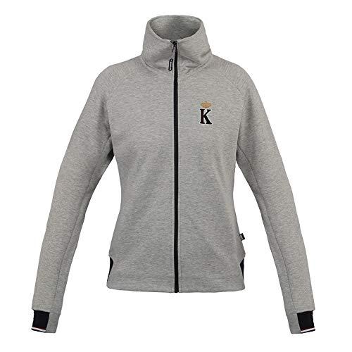 Sweat-Jacke Damen Strai Größe: S Farbe: grau