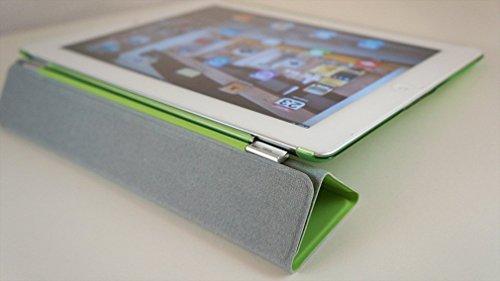 KHOMO Dual CASE Green Cover Front + Green Crystal Back Protector for Apple iPad 2, iPad 3 & iPad 4 (The New iPad HD) Photo #3