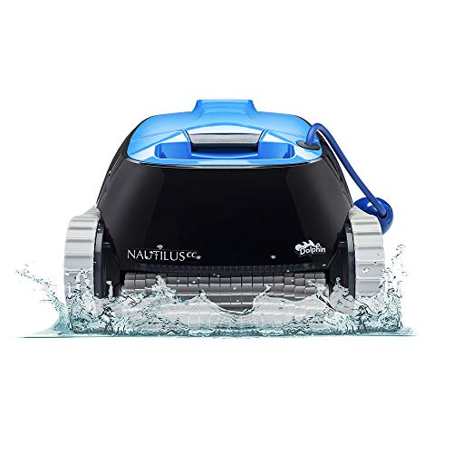 DOLPHIN Nautilus CC Robotic Pool [Vacuum] Cleaner - Ideal for Above/In Ground Swimming Pools up to 33 Feet - Powerful Suction to...