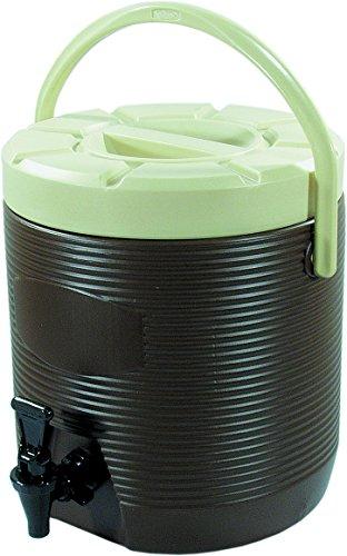 Getränke Thermo Behälter außen aus Kunststoff / innen CNS - 12 Liter / Fb. blau