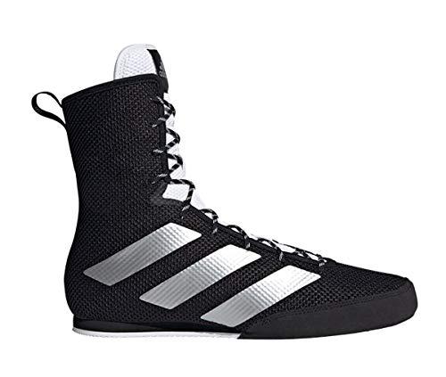 adidas Boxing Boots Men Women Adult Kids Black Training Shoes Boxstiefel Box Hog 3 Herren Damen Erwachsene Kinder Schwarz Trainingsschuhe, 43 1/3 EU