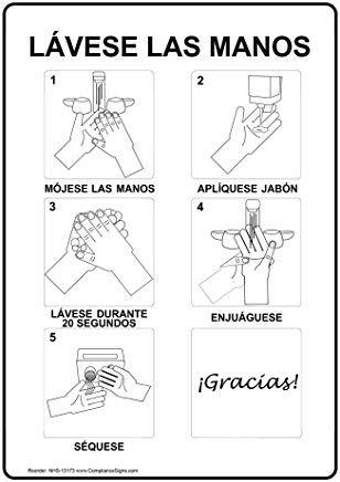 Verticale Wassen Uw Handen Natte Handen Breng Zeep Wassen Voor 20 Tweede Teken, Grappige Wanring Tekenen, Poortteken, Vandaar Yard Sign,8