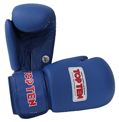 TopTen AIBA Handschuhe, blau, 340 g