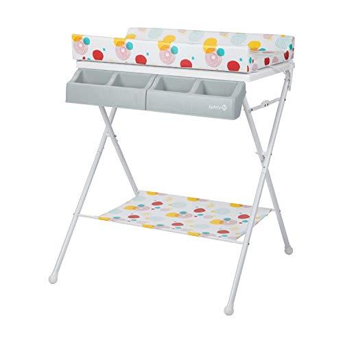 Safety 1st Baltic 2 en 1, table à langer pliable, convient de la naissance à 12 mois, Isla Bonita