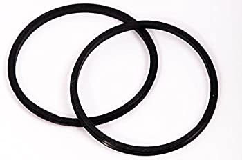 2 Pack Replacement Rubber Gasket Seal Ring 30 oz Tumbler Vacuum Stainless Steel Cup Flex Spare Yeti Ozark Trail Rocky Mountain Top Lid CocoStraw Brand  2 Pack Gaskets - 30oz
