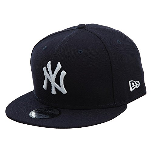 New Era York Yankees Basic OTC 950 Stretch Fit Hat Blue OSFA