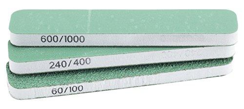 Modelcraft Extra Flexi schlanke Sanders X3, grün & weiß, Set von 3