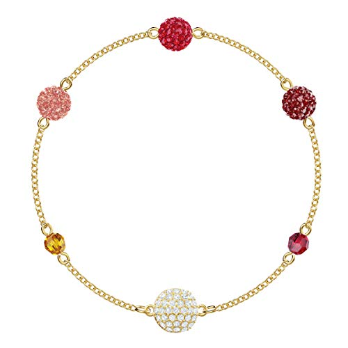 Swarovski Remix Collection Pop Strand, Multicolore, Placcato Oro
