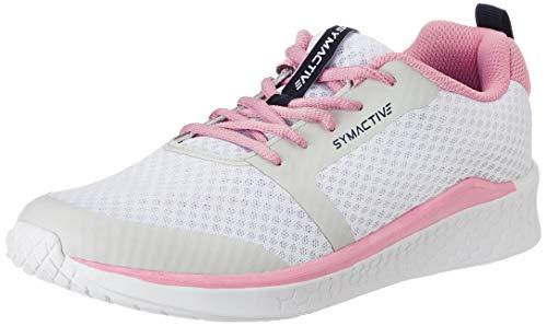 Amazon Brand – Symactive Women's White Running Shoes