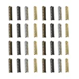 SUPVOX 80 Pcs Shoelace Tip Head, Smooth Replacement...