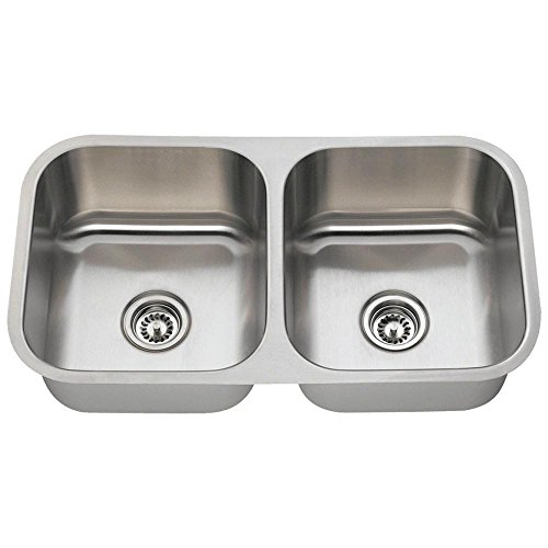 3120d Undermount Double Bowl Stainless Steel Kitchen Sink
