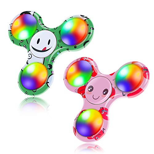 FIGROL-Emoji-Fidget-Spinner-2Pack
