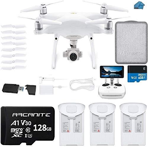 DJI Phantom 4 PRO Plus V2.0 Drone with 1-inch 20MP 4K Camera KIT with Built in Monitor, 3 Total DJI...