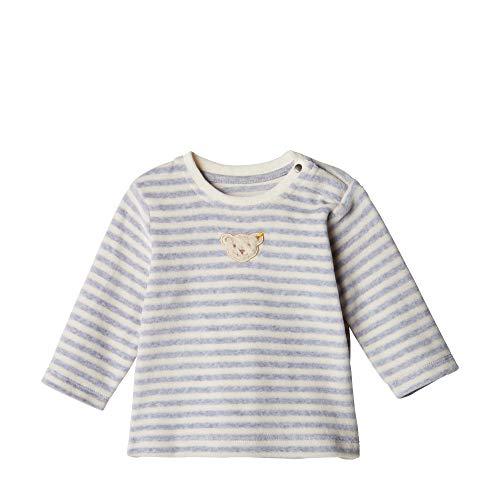 Steiff Sweatshirt Sweat-Shirt, Gris (Quarry 9007), 74 Mixte bébé
