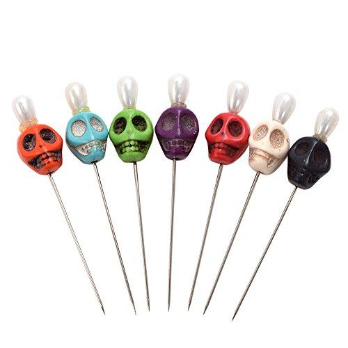 blessume 7 Ritual Pins Totenkopf