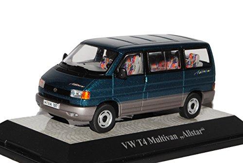 Premium ClassiXXs Volkwagen T4 Multivan Allstar Transporter Personen Grün 1990-2003 1/43 Modell Auto
